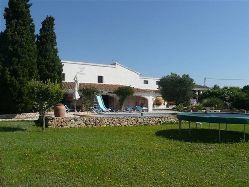 Finca en venta en Javea Golf Area Costa Blanca España