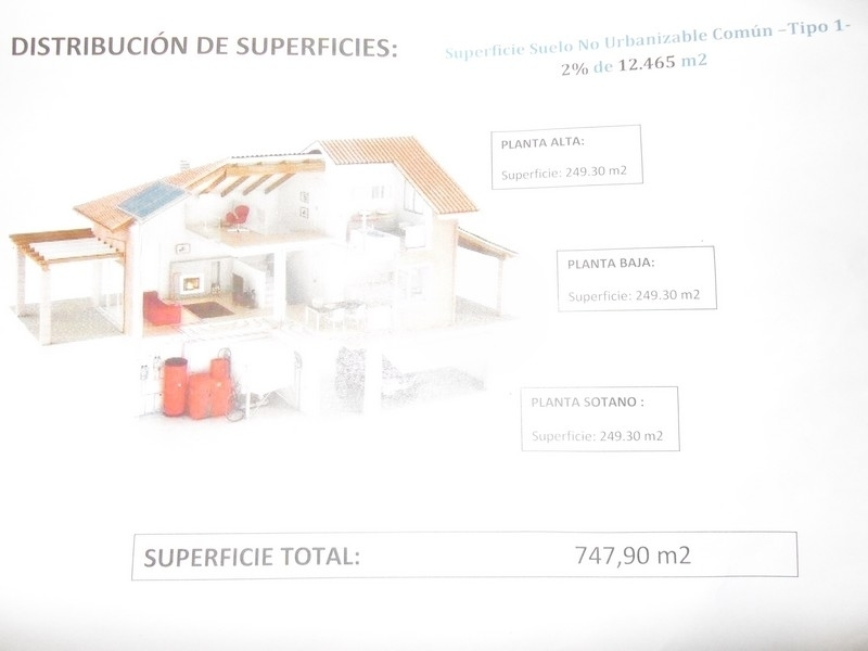 Gran parcela en venta en Benissa Ptda Llenes Costa Blanca, España