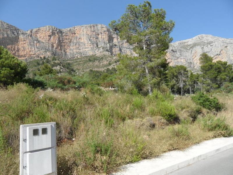 Parcela en venta en Javea Montgo Costa Blanca, España