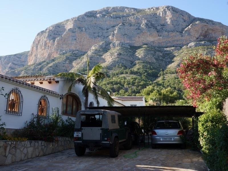 Fabulosa villa en el montgo javea
